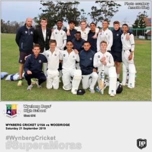 WBHS U15A at Woodridge
