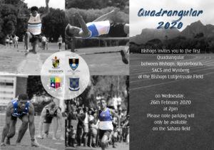 WBHS Invitation to the Quadrangular Athletics