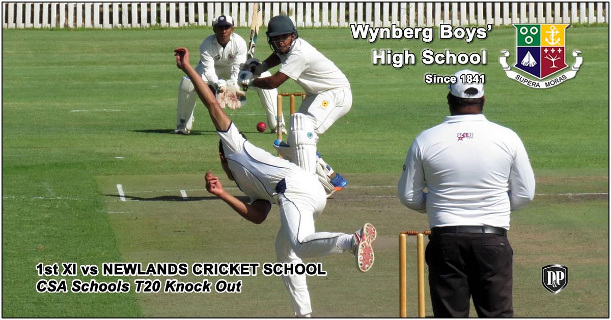 WBHS 1st XI vs Newlands Cricket School