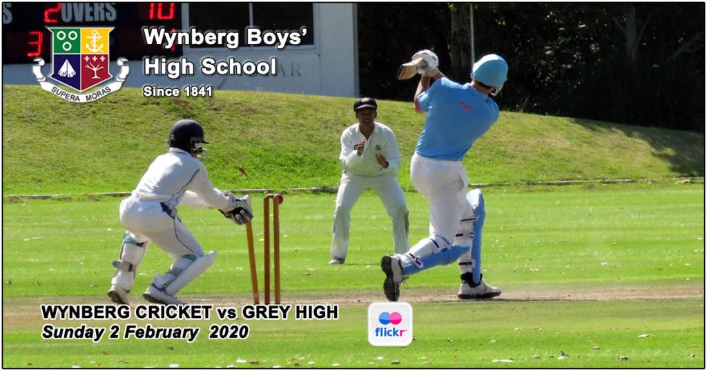 Wynberg Cricket vs Grey High