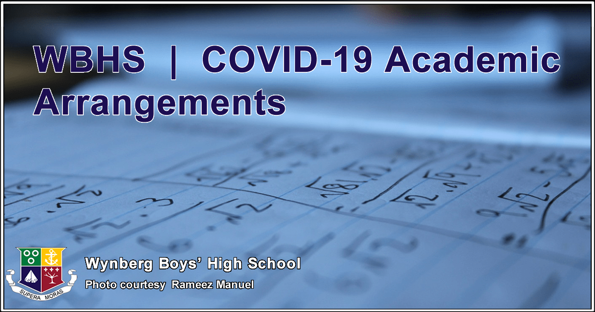 WBHS | COVID-19 Academic Arrangements