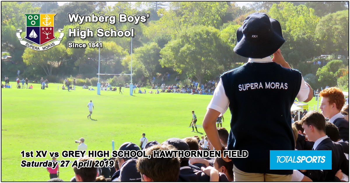 Wynberg 1st XV vs Grey High School