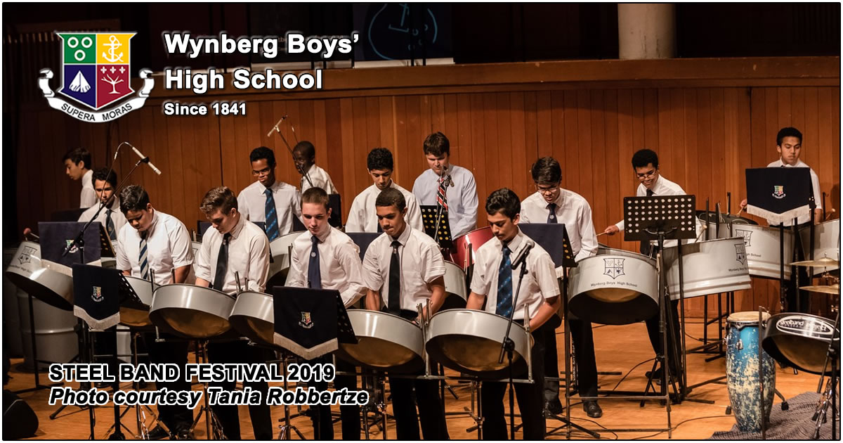 View photos of Wynberg at the Steel Band Festival 2019