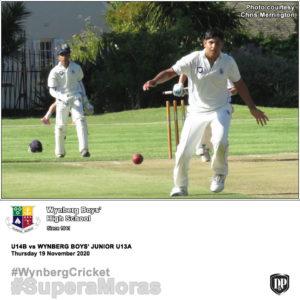 View Flickr photos of the U14B vs WBJS U13A