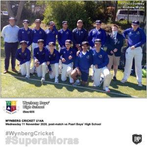 Wynberg Cricket U14A