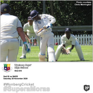 View Flickr photos of the 2nd XI vs SACS