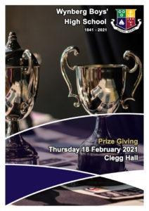 Read the Official Online Prize Giving Programme