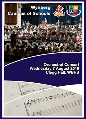 WBHS Campus of Schools Orchestral Concert, August 2019