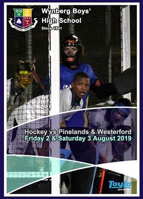 WBHS Hockey vs Westerford & Pinelands, August 2019