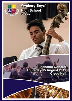 WBHS Nussbaum Concert, August 2019