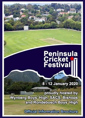 WBHS Peninsula Cricket Festival, January 2020