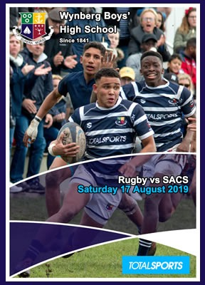 WBHS Rugby vs SACS, August 2019