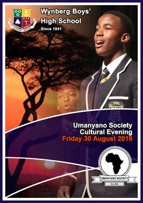 WBHS Umanyano Society Cultural Evening, August 2019